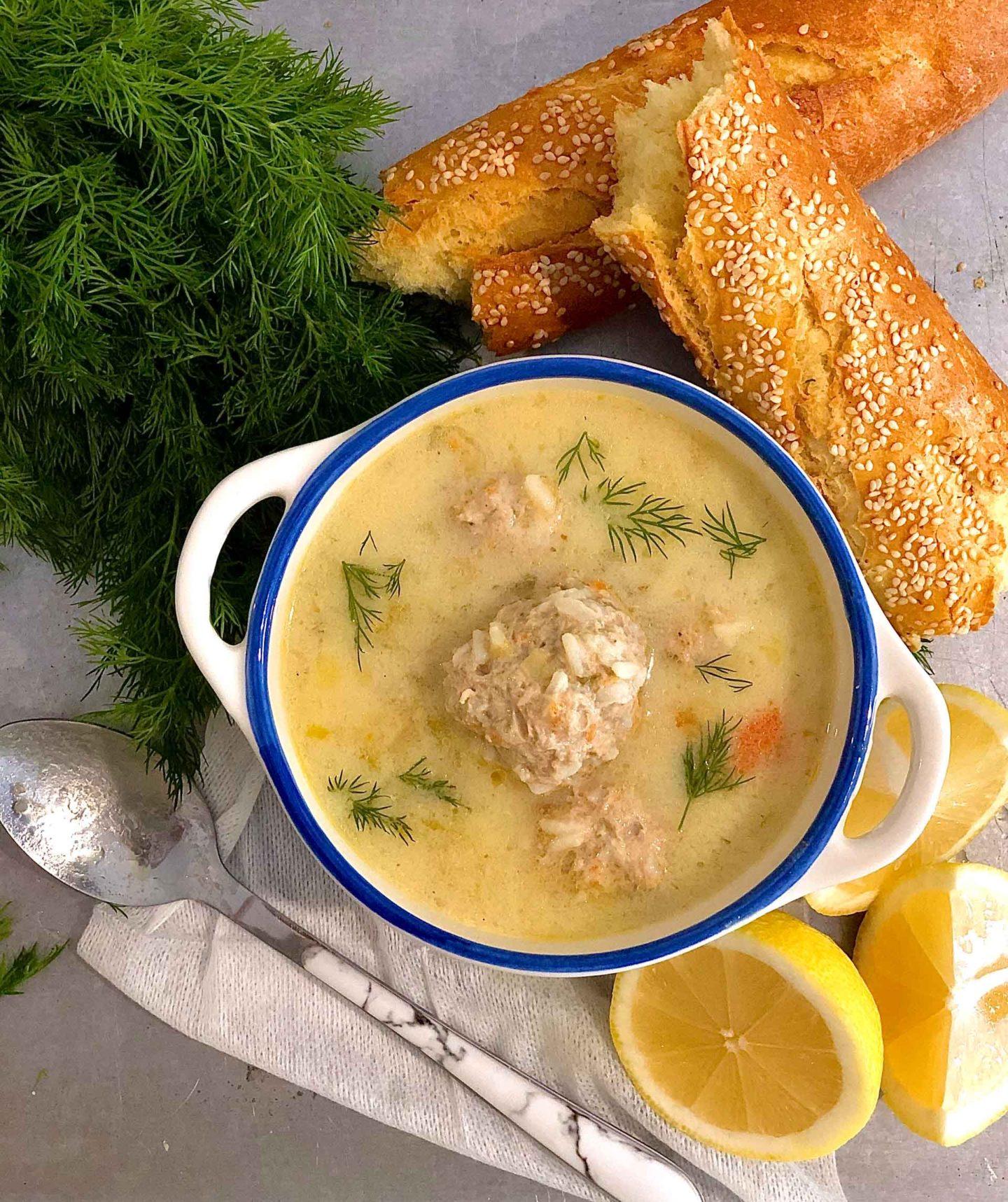 grčka-supa-sa-ćufticama-1